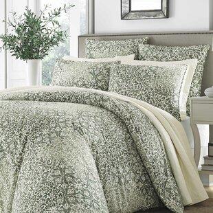 Mahon 100% Cotton 3 Piece Duvet Cover Set
