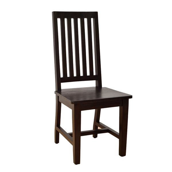 Kissling Solid Wood Slat Back Side Chair (Set Of 2) By Ophelia & Co.