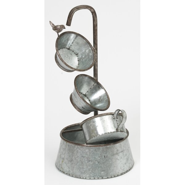 Metal Electric Fountain by Gerson International
