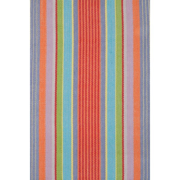 Woven Cotton Flatweave Area Rug by Dash and Albert Rugs