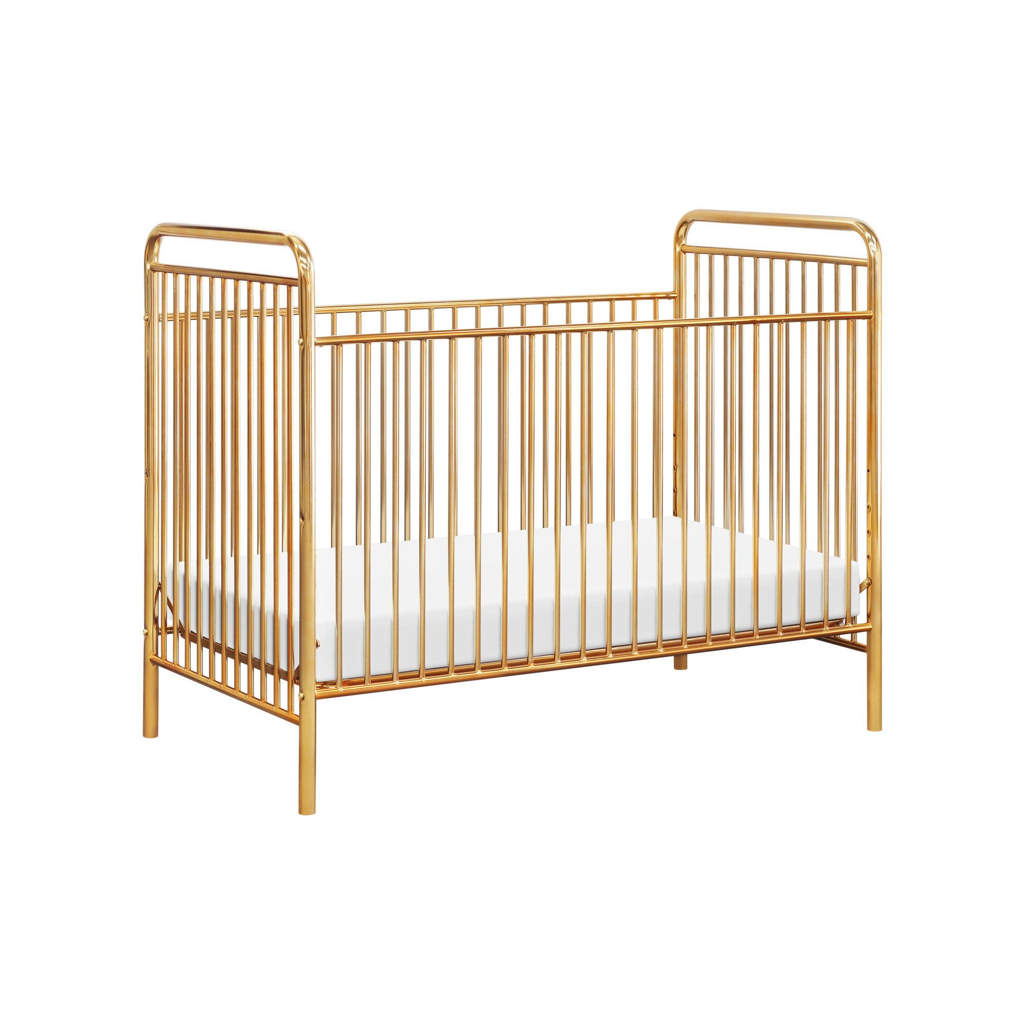 Jubilee Metal 3 In 1 Convertible Crib