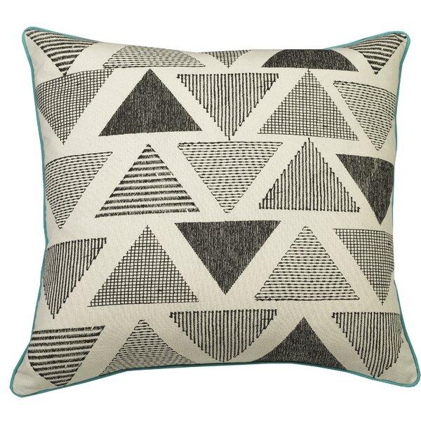 Urban Loft Shaded Triangles Throw Pillow by Westex