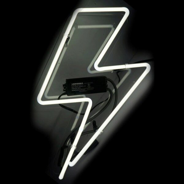 Bolt Neon Sign by Oliver Gal