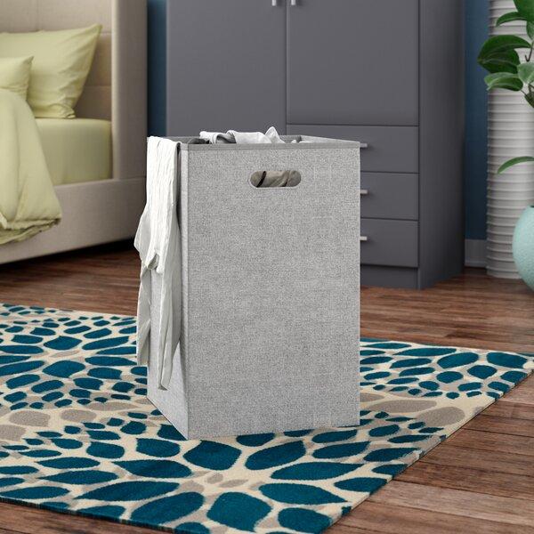 Folding Laundry Hamper by Rebrilliant