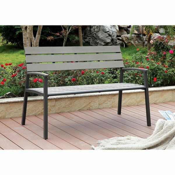 Axelrod Wood Patio Bench by Foundry SelectAxelrod Wood Patio Bench by Foundry Select