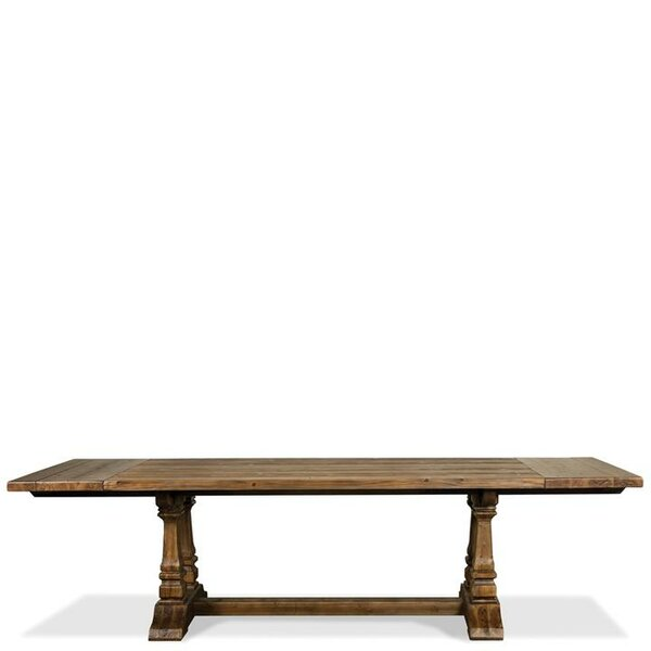 Woosley Breadboard Solid Wood Dining Table by Gracie Oaks