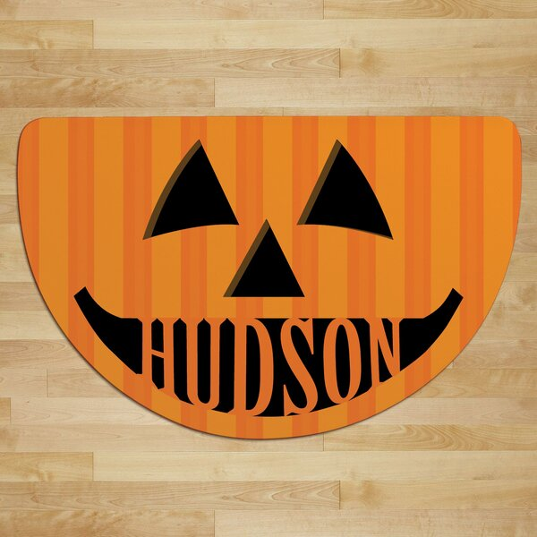 Jack O Lantern Personalized Doormat by CPS