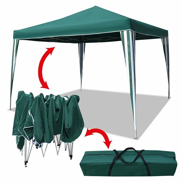 10 Ft. W x 10 Ft.D Steel Pop-Up Capony by Sunrise Outdoor LTD