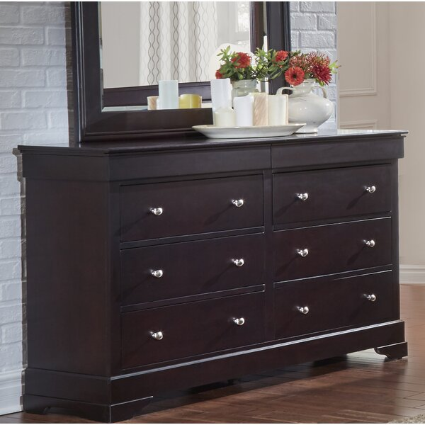Matheson 6 Drawer Double Dresser by Alcott Hill