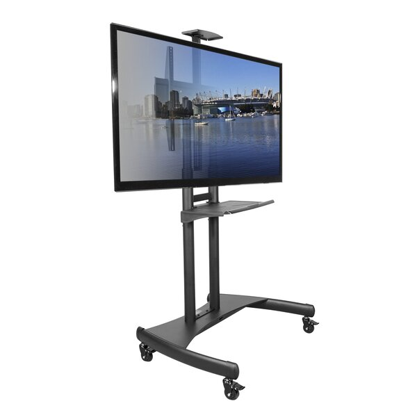 Mobile Floor Stand Mount for Flat Panel Screens by Kanto