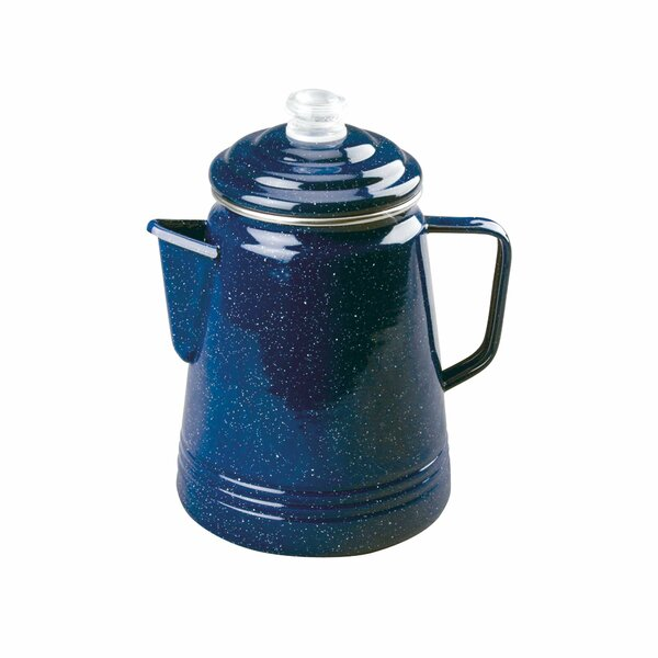 Percolator 14-Cup Enameware Coffee Maker by Coleman