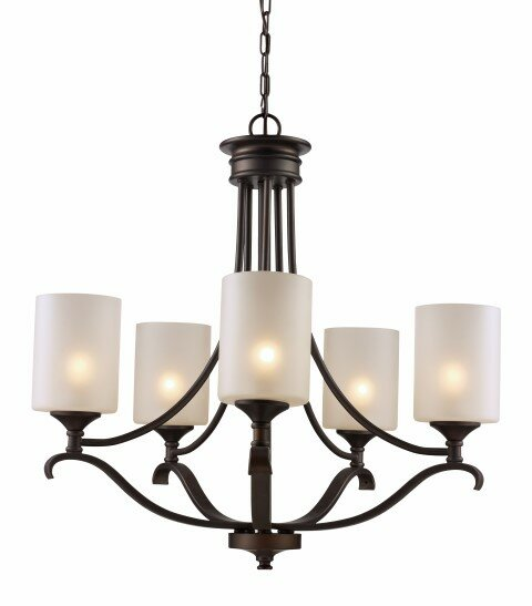 Glenshaw 5-Light Shaded Chandelier by Alcott Hill