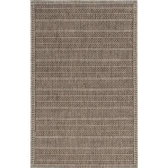 Everly Quinn Round Derosier Animal Print Brown Area Rug Wayfair