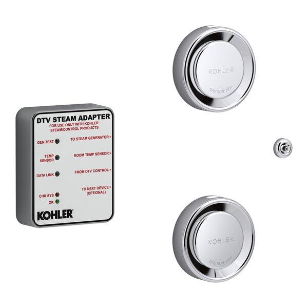 DTV+™ Tandem Steam Adapter Kit by Kohler