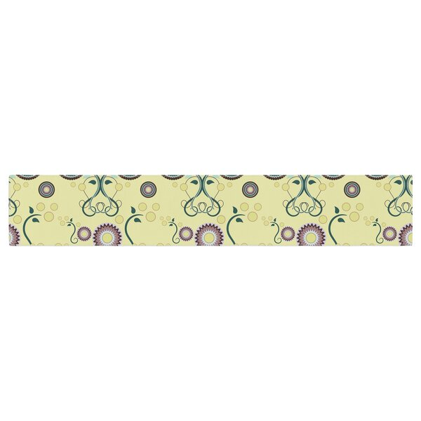 Mydeas Spring Floral Table Runner by East Urban Home