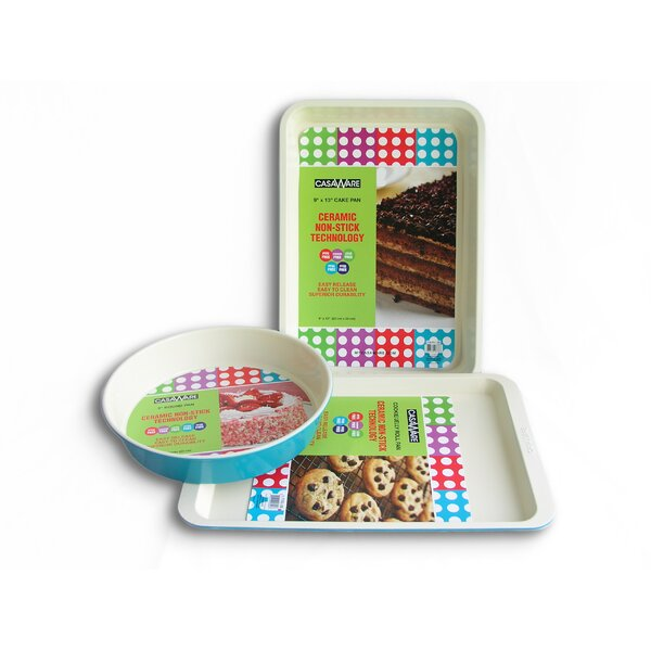 3 Piece Bakeware Set by Casaware