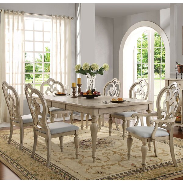 Percy 7 Piece Extendable Dining Set by One Allium Way