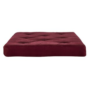 6 Coil Full Size Futon Mattress by Alwyn Home