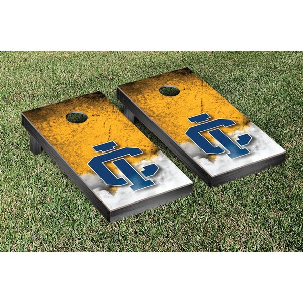 NCAA Ithaca Bombers Vintage Version Cornhole Game Set by Victory Tailgate