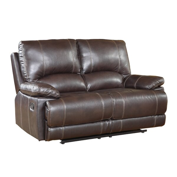 Cool Trendy Ullery Upholstered Living Room Recliner Reclining Loveseat by Winston Porter by Winston Porter