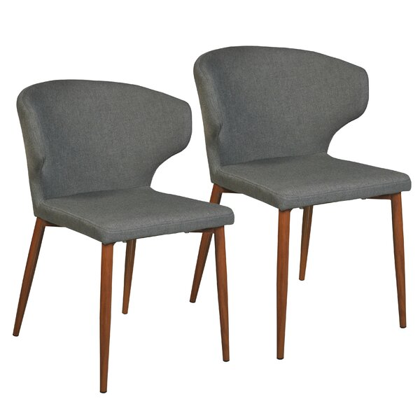 Best #1 Alburgh Upholstered Dining Chair (Set Of 2) By George Oliver Sale
