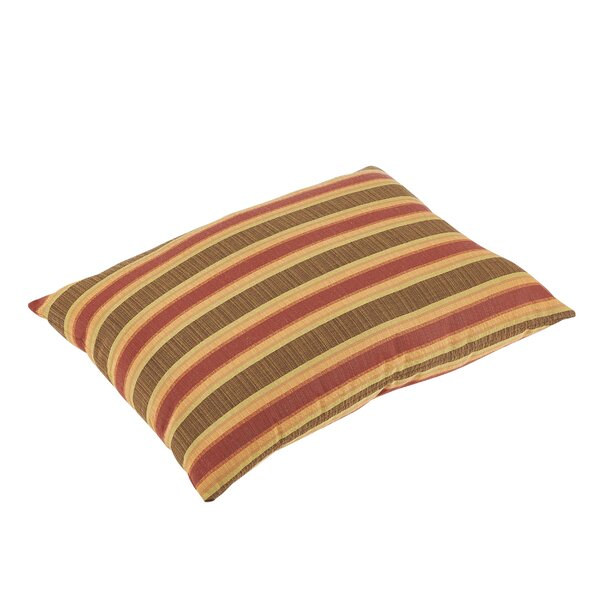 Edgard Sunbrella Dimone Sequoia Indoor/Outdoor Floor Pillow by Darby Home Co