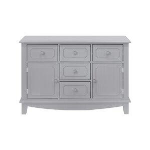 Sullivan Wide 5 Drawer Combo Dresser