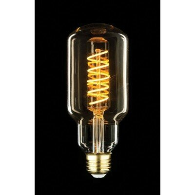 60W Equivalent Amber E26 LED Speciality Edison Light Bulb by String Light Company