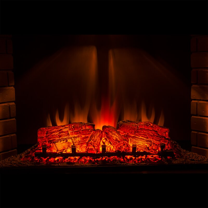 Akdy 3d logs flame electric fireplace insert reviews wayfair 3d logs flame electric fireplace insert teraionfo