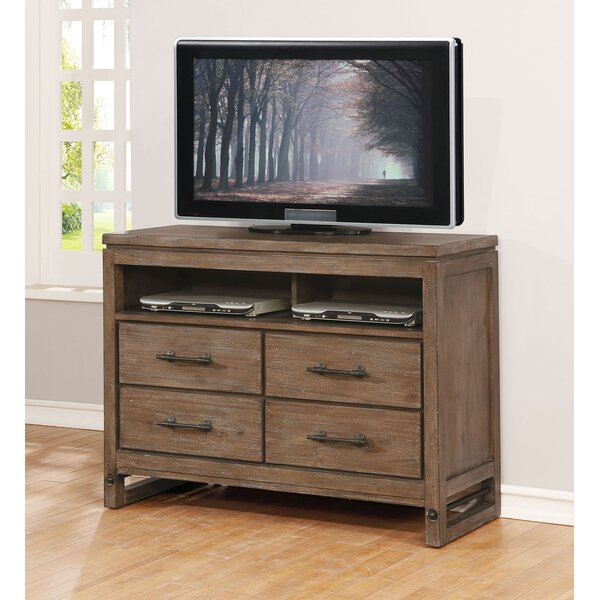 Martelli Solid Wood TV Stand For TVs Up To 55