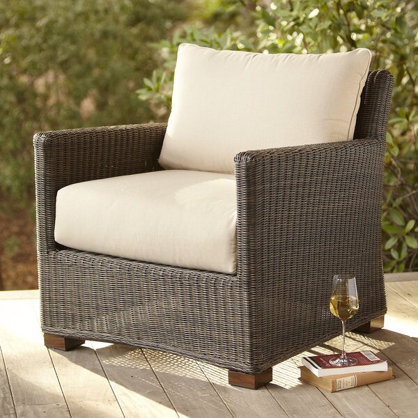 Gretchen Patio Chair with Sunbrella® Cushions by Bay Isle Home