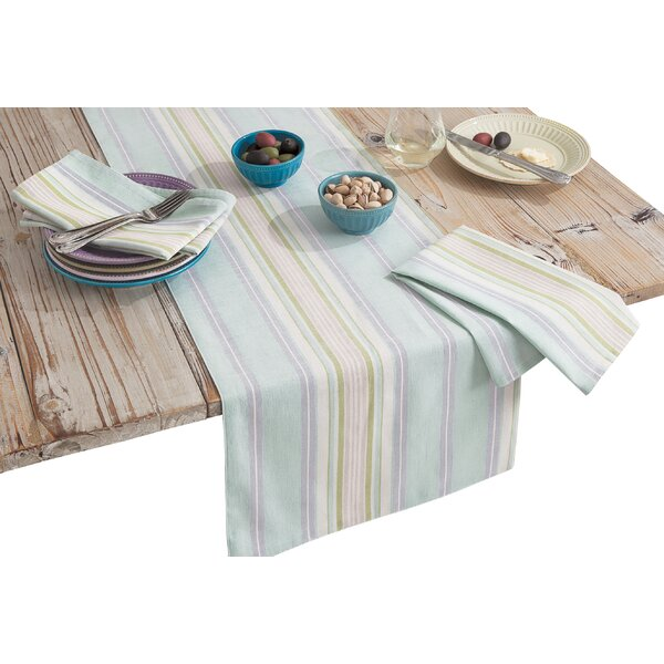 French Perles Stripe Table Runner by Lenox