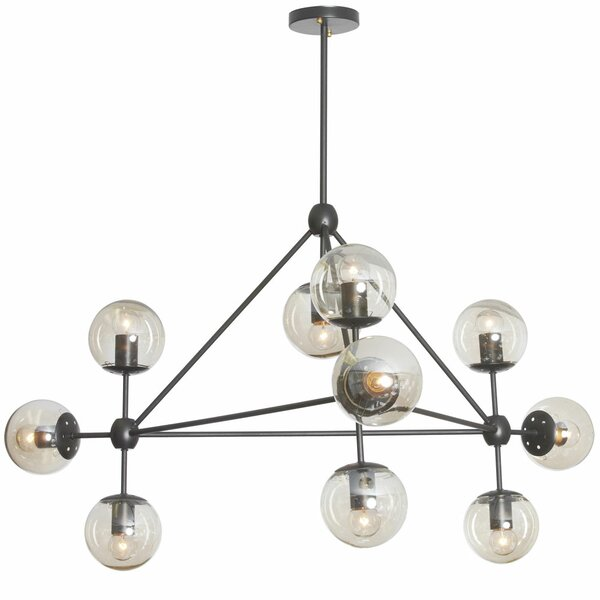 Frederick 10-Light Chandelier by Corrigan Studio