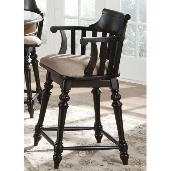 Albrightsville 30 Swivel Bar Stool by Fleur De Lis Living