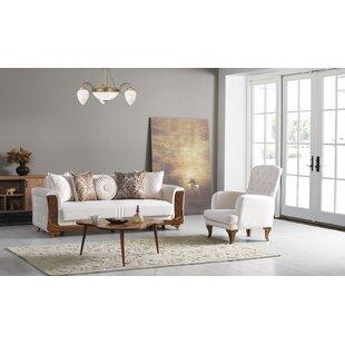 Ralls 2 Piece Sleeper Living Room Set by House of Hampton®
