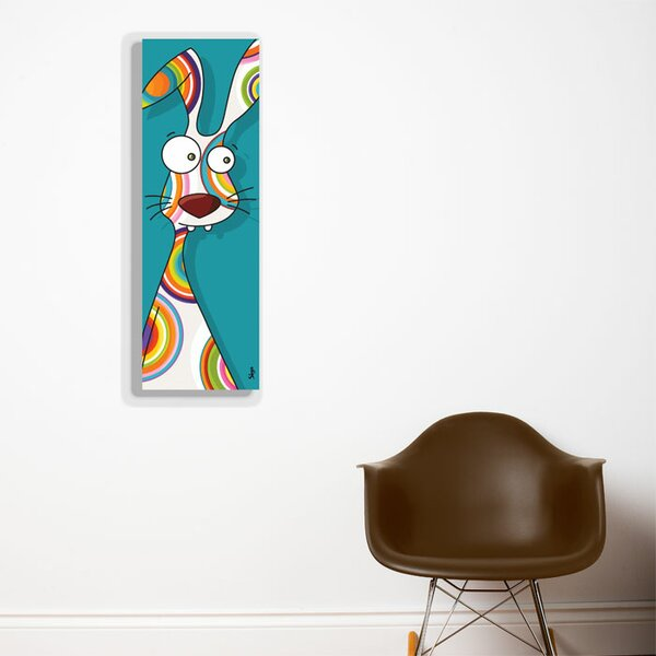 Canvas Rabbit Wall Mural by ADZif