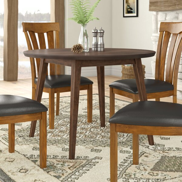 Keown Solid Wood Dining Table By George Oliver