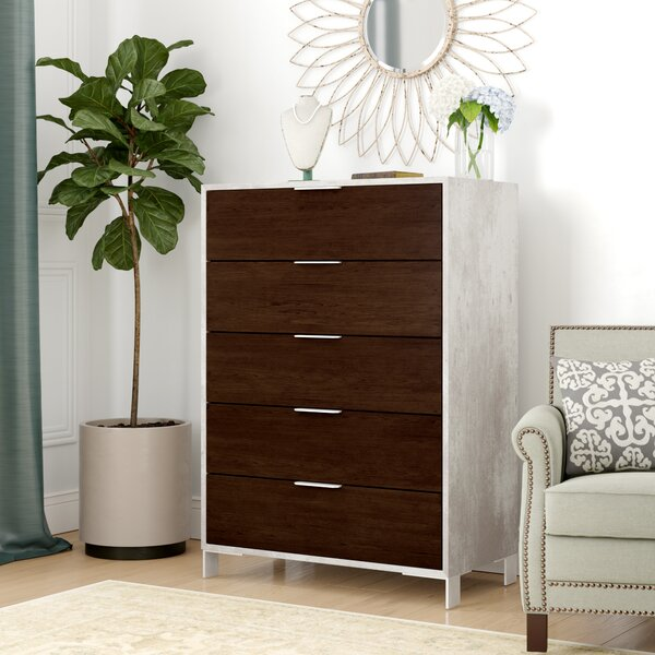 Lipscomb 5 Drawer Chest by Brayden Studio