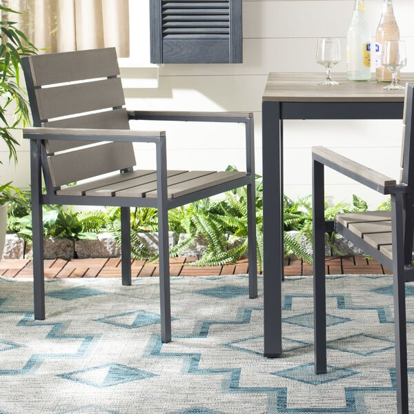 Shawn Stacking Patio Dining Chair (Set of 2) by Modern Rustic Interiors