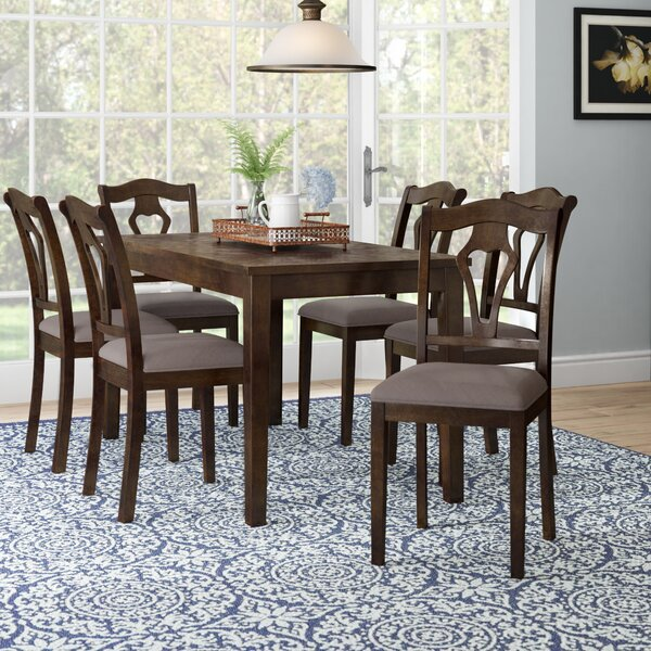 Fresh Hofer 7 Piece Dining Table Set By Alcott Hill No Copoun