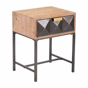 Mercer41 Caledonia End Table with Storage Image