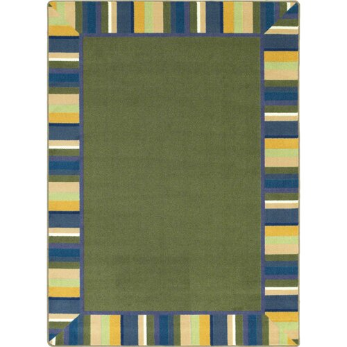 Clean Bold Green Area Rug by The Conestoga Trading Co.