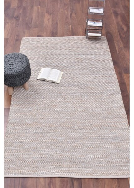 Boise Hand-Woven Brown Area Rug by Bungalow Rose