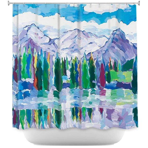 Scenic Sentries Shower Curtain by East Urban Home