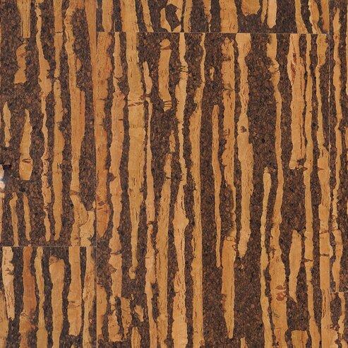 Dennison 11.75 Cork Flooring in Medium Brown by Albero Valley