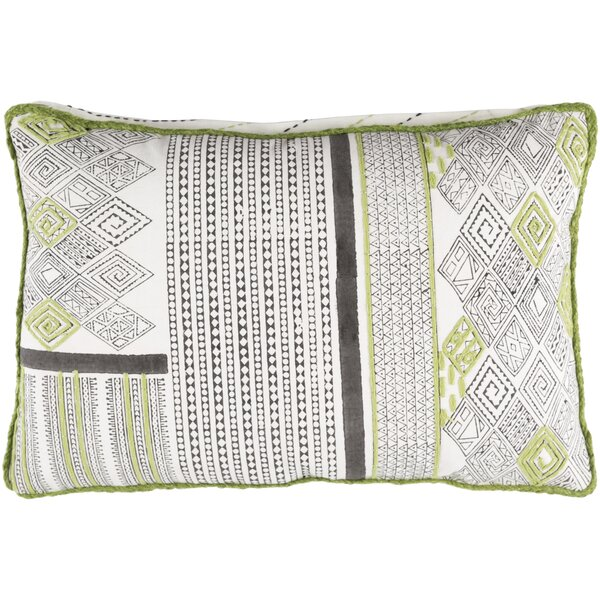 Aurelio Cotton Rectangular Lumbar Pillow by Bloomsbury Market