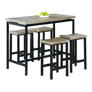 Bourges 5 Piece Pub Table Set  sc 1 st  AllModern & Bar Tables + Sets - Modern \u0026 Contemporary Designs | AllModern