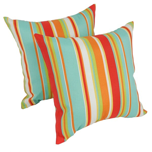 Havilland Outdoor Throw Pillow (Set of 2) by Bay Isle Home