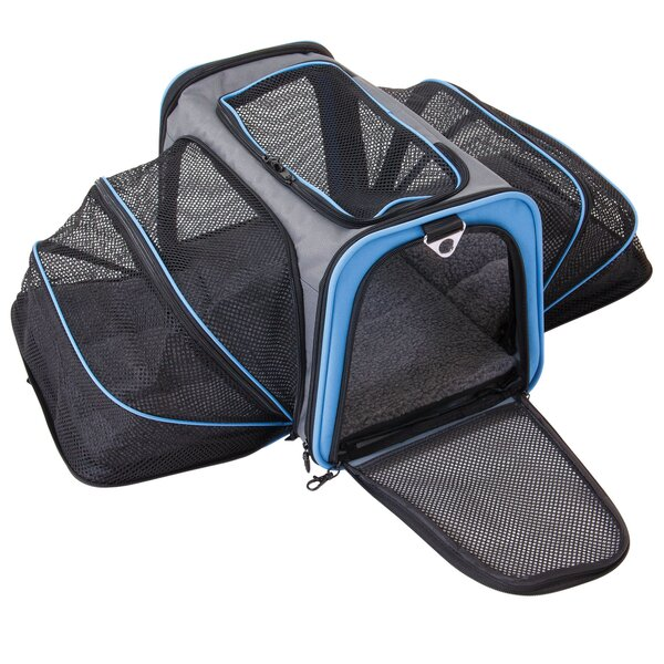 Double Extendable Pet Carrier by Jackson Galaxy