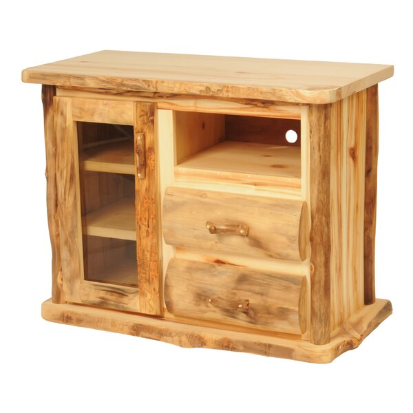 Lasseter Solid Wood TV Stand for TVs up to 55